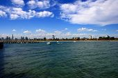 Melbourne, Australia, viewed from St Kilda