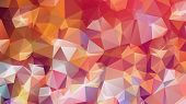 Постер, плакат: Polygonal Abstract Background abstract Background Consisting Of Triangles