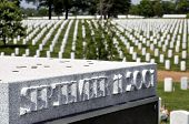 picture of arlington cemetery  - September 11 memorial  - JPG