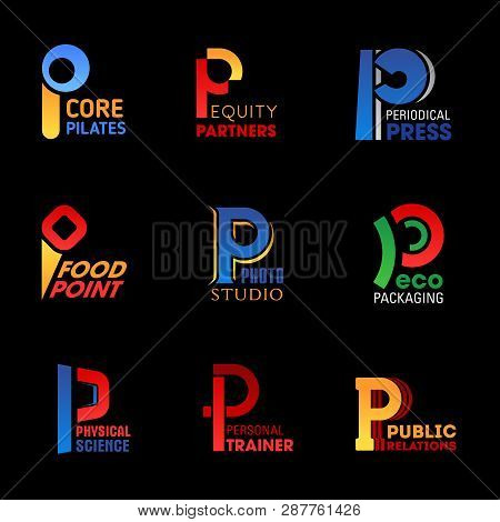 P Letter Icons Of Industry