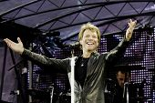 Bon Jovi performs in Helsinki Olympic Stadium on Bon Jovi Live 2011