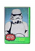 Original Star Wars Card Soldier Of Evil