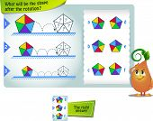 Shape After The Rotation Thinking poster