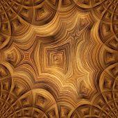 Renedered Fractal , Grunge Texture