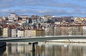 France; Lyon Or Lyons; View Of The Saone River