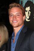 LOS ANGELES - OCT 18:  Jonny Weston arrives at  the