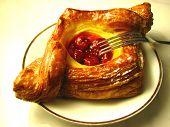 Red Cherry Danish Pastry