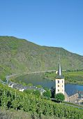 Bremm,Mosel River,Germany