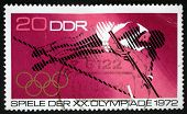 DDR - CIRCA 1972: stamp printed by DDR, shows Olympic Games in Munchen, circa 1972