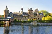 Medieval castle De Haar in the Netherlands