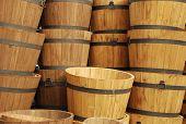 Columns Of Barrels