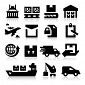 picture of receipt  - Shipping icons - JPG