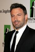 LOS ANGELES - OCT 22:  Ben Affleck arrives at  the 2012 Hollywood Film Festival Gala at Beverly Hilt