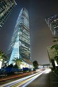 HONG KONG - OCTOBER 9: International Commerce Centre October 9, 2012 in Hong Kong, China. It is Hong Kong's tallest building at 484 meters.