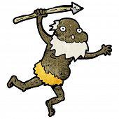 Cartoon alte Stammesangehörige