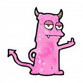 rude little monster cartoon