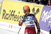SOELDEN, AUSTRIA -OCT 25: GASIENICA DANIEL Agnieszka POL competing in the giant slalom race at the R