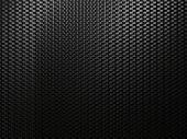 Black Abstract Metall Background