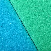 Colorful Texture Cellulose Foam Sponge Background