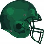 picture of football helmet  - an american football helmet in great colours - JPG