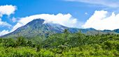 Mt Merapi Landscape