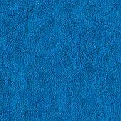 Blue Microfiber. Seamless Texture.