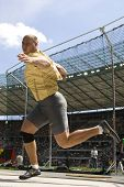 June 14 2009; Berlin Germany. Gerd KANTER (EST) competing in the  discus at the DKB ISTAF 68 Interna