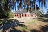 Slave quarters outdoors