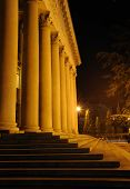 Columns Of A Building