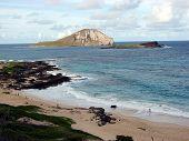 Two Islands Ocean Rocky Beach