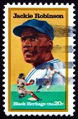 Postage Stamp Usa 1982 Jackie Robinson, Baseball Player