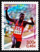 Postage Stamp France 2000 Carl Lewis, Athlete