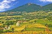 Kalnik Mountain Green Hills Scenery