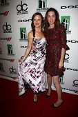 Juliette Lewis and Julianne Nicholson at the 17th Annual Hollywood Film Awards Backstage, Beverly Hi