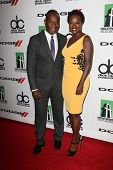 Julius Tennon and Viola Davis at the 17th Annual Hollywood Film Awards Arrivals, Beverly Hilton Hotel, Beverly Hills, CA 10-21-13
