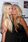 Kim Richards and Brooke Brinson at the Real Housewives of Beverly Hills Season 4 Party and Vanderpum