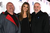 Michael Chiklis, Maria Menounos and Chuck Saftler at the Blue Jean Ball benefiting Austism Speaks, B