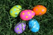 Cluster of Easter Eggs
