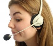 Sceptical Call Centre Operator