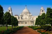 Victoria Memorial, Kolkata , India - Landmark Building.