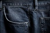 Black Jeans Pocket