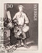 Carl Linnaeus Stamp