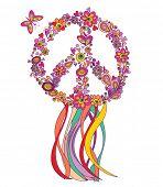 Hippie wreath