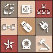 Universal Vector Flat Icons
