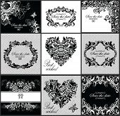 Wedding invitation (black and white)