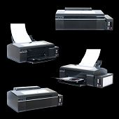 collage ink-jet printer