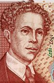 BULGARIA - CIRCA 1999: Ivan Milev (1897-1927) on 5 Leva 1999 Banknote from Bulgaria. Bulgarian paint