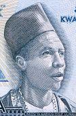 MALAWI - CIRCA 2012: Inkosi Ya Makhosi Philip Gomani II (1893-1954) on 50 Kwacha 2012 Banknote from Malawi.