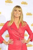 LOS ANGELES - JAN 14: Heidi Klum at the NBC + Time Inc. celebrate the 50th anniversary of the Sports