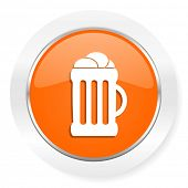 beer orange computer icon
